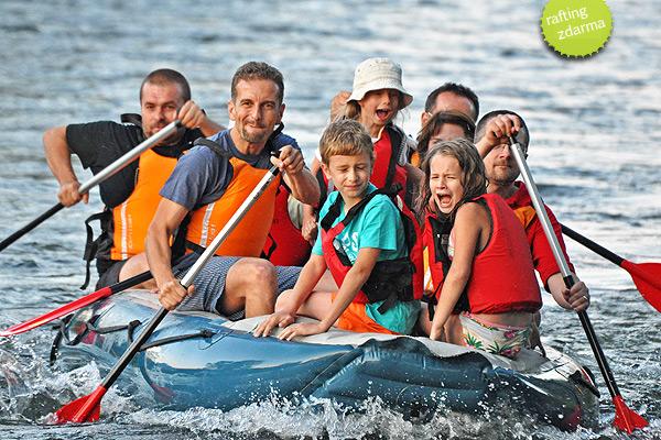Rafting ZDARMA